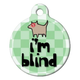 Im Blind Pet ID Tag Small