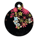 Midnight Garden Pet ID Tag Large