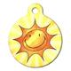 Sun Smile Pet ID Tag Large