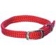 Adjustable Puppy Collar 14 Inch Red