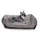 KH Mfg Self-Warming LoungeSleeper Black Dog Bed LG