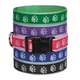 Guardian Gear Pawprint Dog Collar 18 to 26in Prple
