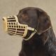 Guardian Gear Basket Dog Muzzle LG Black