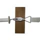 Safe Fence Wide Tape Tensioner w/ Gate Hook Plate