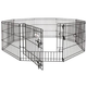 Petmate 8-Panel Exercise Dog Pen 24x42