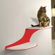 RefinedKind Cat Clouds Red Cat Shelf Right