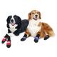 Fleece Lined Muttluks Blue Dog Boots XXX-Small