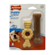 Nylabone Puppy Chew Textured Ring n Bone 2-Pack