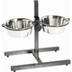 Indipets Adjustable Height Double Diner 5 QT