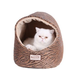 Armarkat Hooded Bronze/Beige Cat Bed
