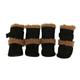 Pet Life Black Shearling Duggz Dog Boots XS