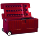 Horsemens Pride Tack Trunk with Wheels Red
