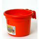 8 Quart Hook Over Feed Pail Red