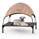 KH Mfg Pet Cot Canopy Medium Tan