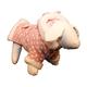 Pet Life Polka-Dot Hoodie Pet Sweater Pink MD
