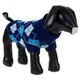 Pet Life Arygle Ribbed Pet Sweater Blue MD