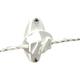 Powerfields Wood Post Claw Insulator White