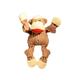 Hugglehounds Sock Monkey Knottie Dog Toy Small