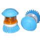 Pump N Scrub Grooming Brush