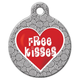 Free Kisses Pet ID Tag Small