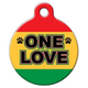 One Love Pet ID Tag Small