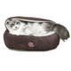Majestic Pet 18 inch Chocolate Suede Canopy Bed