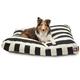 Majestic Outdoor Black Stripe Rectangle Pet Bed SM