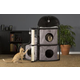 Prevue Catville Bungalow Gray Cat Furniture