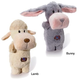 Charming Pet Puppet Squeaks Dog Toy Lamb