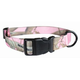 Realtree Pink Camo Nylon Dog Collar Large