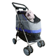 Pet Life All-In-One Pet Stroller Carrier-Car Seat