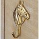 Brass Horsehead Hook