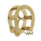 Horseshoe Brass Bridle Bracket