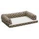 Quiet Time Teflon Brown Ortho Sofa Dog Bed 36x54