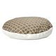 Quiet Time Teflon Brown Round Dog Bed 48in
