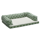Quiet Time Teflon Green Ortho Sofa Dog Bed 36x54
