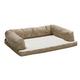 Quiet Time Script Tan Ortho Sofa Dog Bed 36x54
