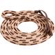 Mustang Eye Slide Lead Rope Brown/Natural