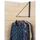 Tough-1 Small Folding Clothes Bar