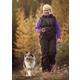 Hurtta Free Hand Jogging Dog Leash S/M Birch