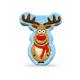 PrideBites Plush Reindeer Dog Toy