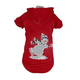 Pet Life LED Holiday Snowman Sweater Costume XS