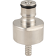 Carbonation and Line Cleaning Ball Lock Cap - Stainless