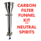 Activated Carbon Filter Kit - Funnel Style