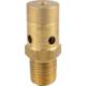 Brass Gas Pressure Relief