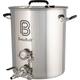 BrewBuilt™ Brewing Kettle - Ball Valve