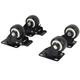 KOMOS® Standard Kegerator Replacement Rolling Casters