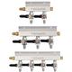 KOMOS® Aluminum Gas Manifold - 1/4 in. Flare