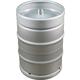 Stainless Steel US Sanke Keg - 15.5 gal.