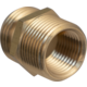 Brass Hose - Male 3/4 in GHT and 1/2 in FPT